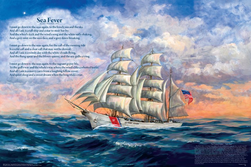 a review of john masefields poem sea fever